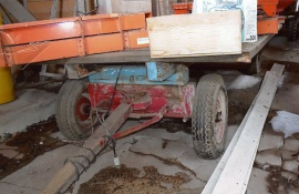 2-axlad vagn