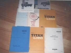 Instruktionsböcker Volvo LV även militär