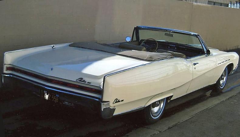 Buick Electra cab