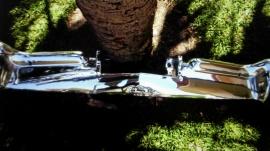 BUICK 1963 bakkofångare m.m. 1957 huvemblem