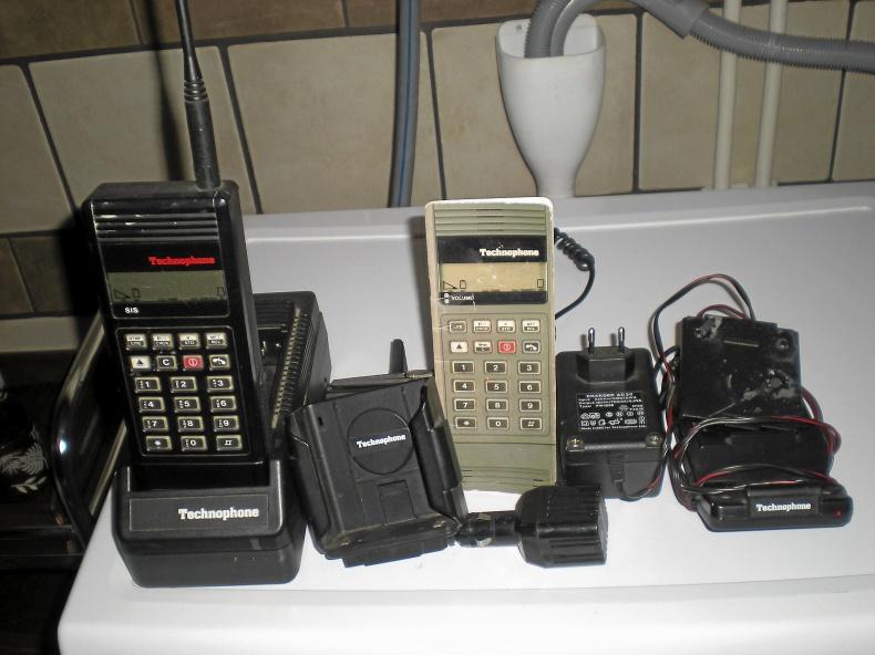 Gammal mobiltelefon