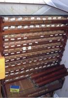 Möbel i mahogny