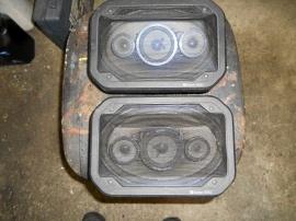 Clarion 990 bilhögtalare bak