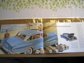Försäljningsbroschyr Mercedes-Benz 300 Aut. 1950-tal