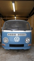 VW Pickup dubbelhytt renoveringsobjekt