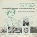 Broschyr Ford Power options 1954