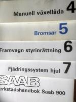 Saab verkstadshandböcker