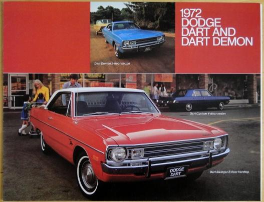Broschyr Dodge Dart Demon 1972