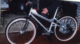 Mercedes elcykel