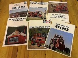 BM Volvo traktorbroschyrer