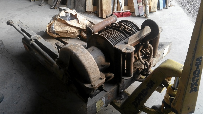 Frontwinch till Fordson Major