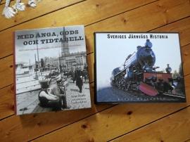 Ångbåtstrafik och järnvägshistoria