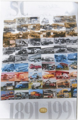 Scania-affisch 1891-1991