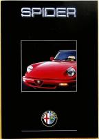 Broschyr Alfa-Romeo Spider 1991