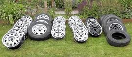 Lagerrensning fälgar och reservhjul