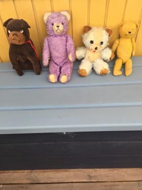 Leksakshundar och nallar
