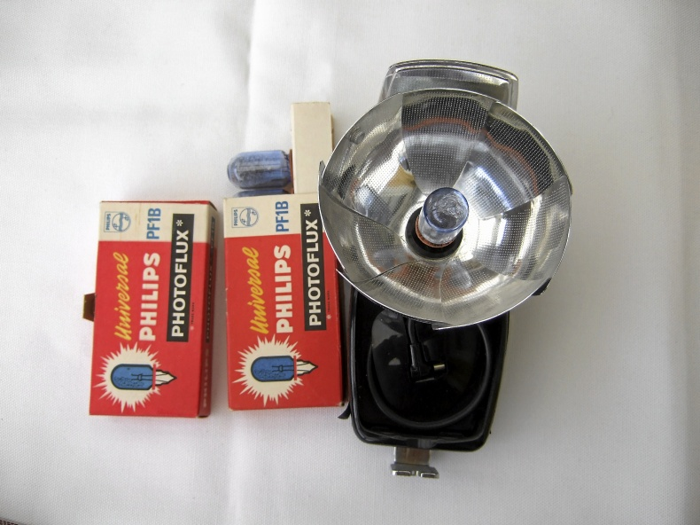 Blixtlampor analogt foto