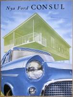 Broschyr Ford Consul 1957