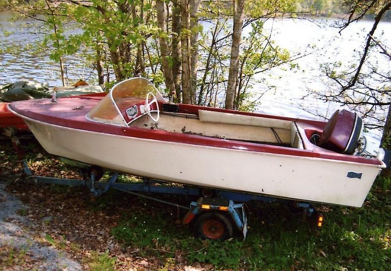 Sportbåt Selco 1960-tal