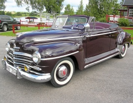 Plymouth Special Deluxe Convertible 1948