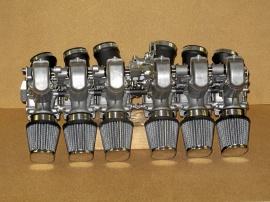 Förgasarbrygga Honda CBX 6 cyl.