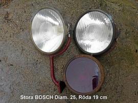 Bosch lyktor, brandbil ?