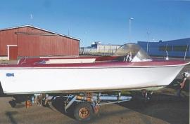 Nostalgi sportbåt Selco 1960-tal