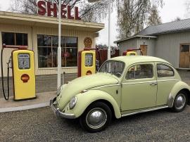 mobile_Ljusgrön VW-bubbla, 1200 Lim 113