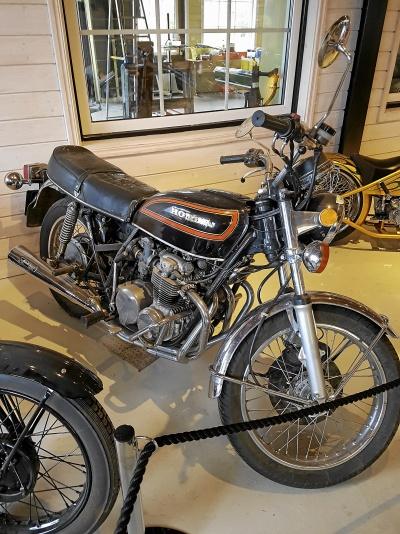 Honda CB500 K3 Avgassystem