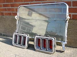 Bakljusljus Ford Mustang 1970. T-hotruta.