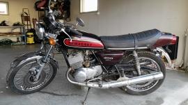 Kawasaki 400 S3 Trippel