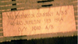 Ryamatta Ford 160x100 cm