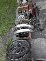 Diverse mopeddelar