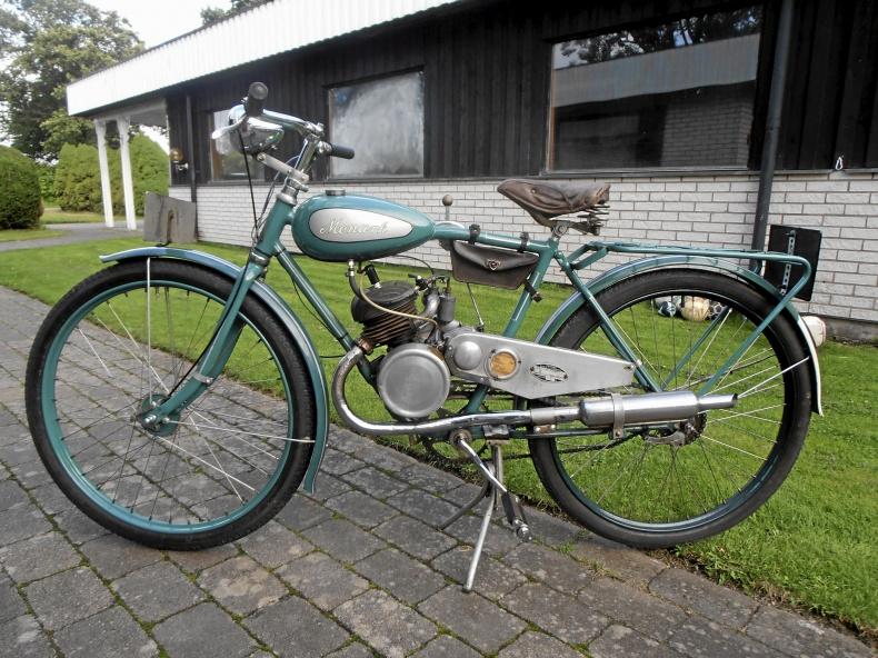 Gamla motorcyklar