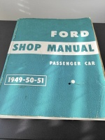 FORD SHOP MANUAL 1949/50/51