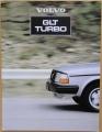 Broschyr Volvo GLT Turbo 1981