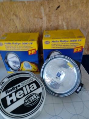 Fjärrstrålkastare Hella Rallye 3000 FF