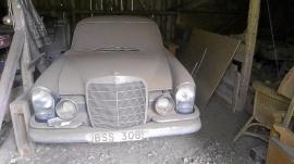 Mercedes-Benz 220 S Bra renoveringsobjekt
