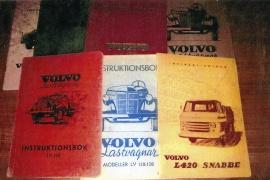 Instruktionsböcker Volvo LV 1938-1990