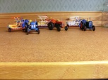 Handbyggda modeller i skala 1:32