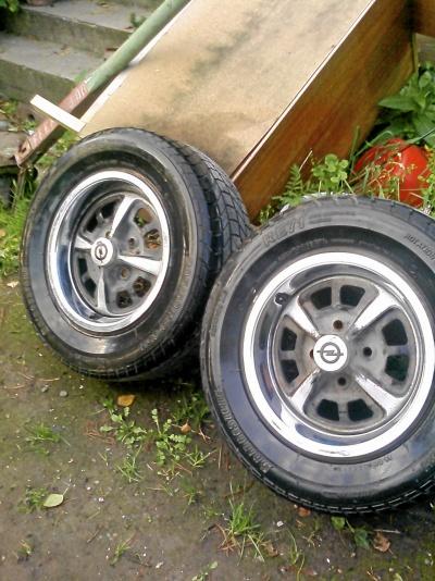 2 st Kadett-hjul