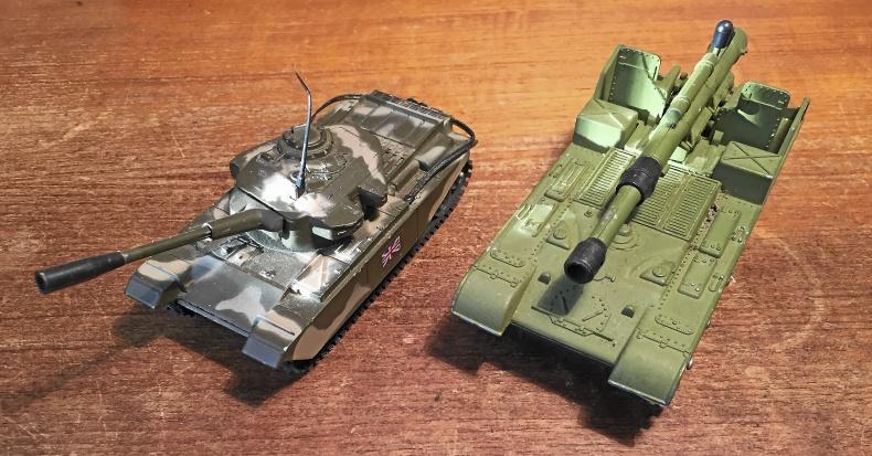 Militärfordonsmodeller