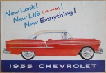 Broschyr Chevrolet 1955