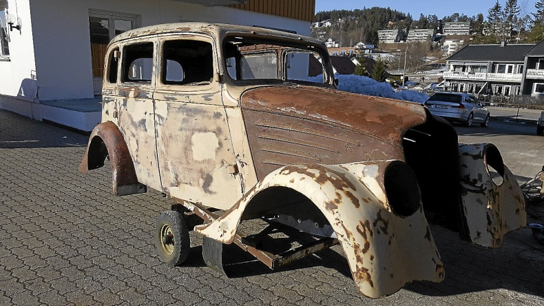 Willys hot rod eller gasser projekt