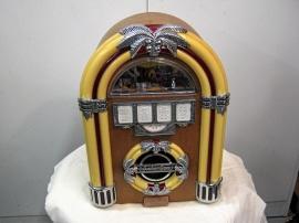 Gammal Retro-radio