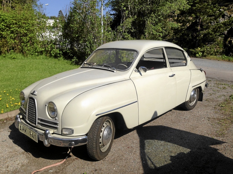 Saab 96 Deluxe