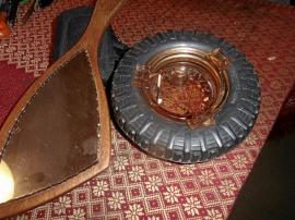 Askopp med Trelleborgs däck och nackspegel
