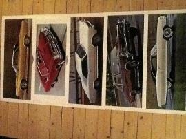 Pontiac GTO affischer