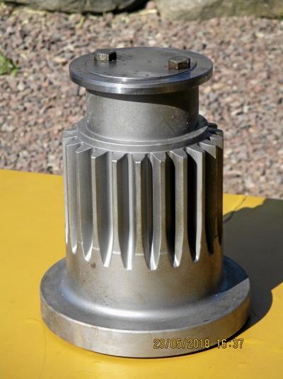 Ventilblock och FTG Kuggaxel