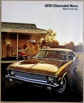 Broschyr Chevrolet Nova 1970